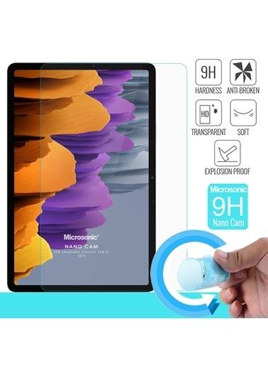 Microsonic Microsonic Samsung Galaxy Tab S7 T870 Nano Glass Cam Ekran Koruyucu Renksiz Renksiz